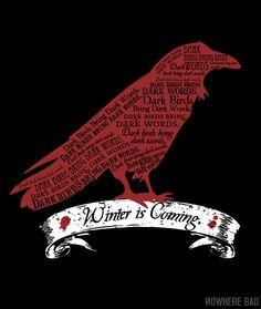 Dark Birds Bring Dark Words