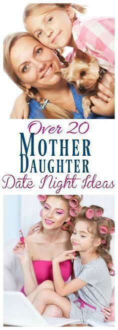 Parenting daughters / Mother daughter dates / Bonding with daughter / mother daughter / How to connect with my daughter / Over 20 Mother Daughter Date Night Ideas Mommy Daughter Dates, Daughters Day, Raising Daughters, Raising Girls, Daughter Quotes, Mother Daughter Activities, Mother Daughter Crafts, Kid Dates, Kids Sleep