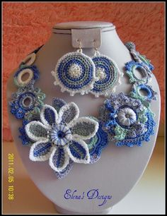 crochet. That is cool !  I would so wear this, & not worry of it turninggrern