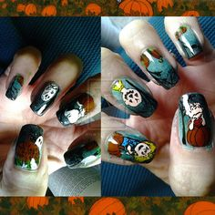 """""""It's the Great Pumpkin, Charlie Brown"""" :)) · Hello Giggles - Nail Art Chat! · Mightybell"""