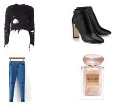 """""""Date night"""" by hendricksl ❤ liked on Polyvore featuring adidas Originals and Giorgio Armani"""