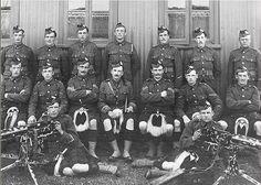 Gordon Highlanders machine gun corps 1914