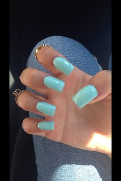 beautiful long acrylic nails! perfect for summer winter fall and spring! they're simple yet gorgeous!
