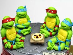 Teenage Mutant Ninja Turtles Cake Toppers, London