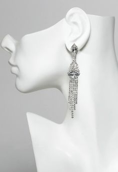 Earring features:• Linear design• Hypo allergenic posts• Lead and Nickel free