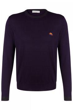 Etro Herren Strickpullover Lila | SAILERstyle Elegant, Sweatshirts, Sweaters, Fashion, Lilac, Mens Knit Sweater, Blouse, Trousers, Breien