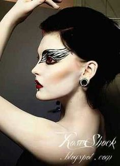 swan lake  makeup love