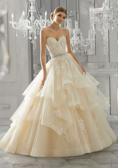 Moira Wedding Dress by Morilee STYLE NUMBER: 8184