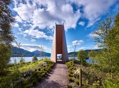 Gallery of The Pyramid Viewpoint / BTE Architecture - 9