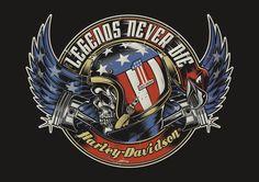T-Shirts Designs Harley-Davidson - USA Copyright Harley Davidson © 2013 - All rights reserved.