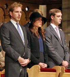 Young Grimaldi Royals - MYROYALS - HOLLYWOOD: November 2012/••••...and three stood together.