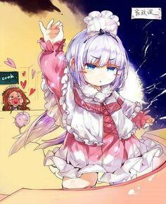 °= Kanna Kamui and Riko Saikawa =° Kobayashi-san chi no maid dragon