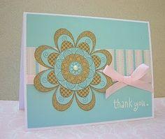 Spiro Thank You Card by Nancy Ward