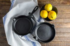Victoria Cookware 6 1/2 inch Skillets