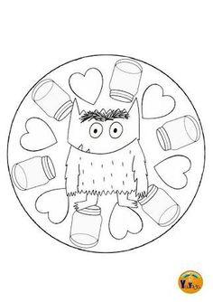 Resultado de imagen para el monstruo de los colores Monster Activities, Class Activities, Halloween Borders, Halloween Fun, Autumn Activities For Kids, Grande Section, Daisy Girl Scouts, Les Sentiments, School Readiness