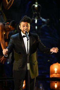 The Weeknd #Oscars2016