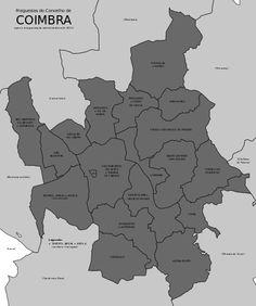 Freguesias do concelho de Coimbra.