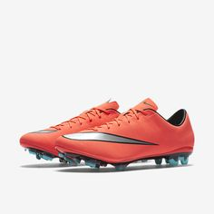 a10276ec8 Nike Mercurial Veloce II FG Soccer Cleats Boots Men s Size 7.5 Bright Mango  RARE (eBay Link)