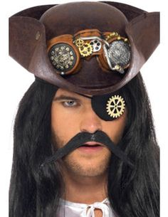 Steam Punk Eyepatch with Cog  : Get It On Fancy Dress Superstore, Fancy Dress & Accessories For The Whole Family. http://www.getiton-fancydress.co.uk/halloweenhorror/halloweencostumes/halloweensteampunk/steampunkeyepatchwithcog?cPath=821_939&#.Uvt7e_sry10