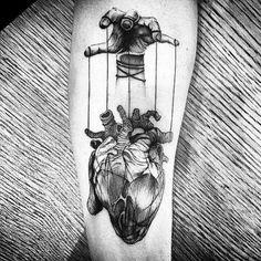 #tatto #heart #miocardio #corazon #antebrazo #prono #b&w