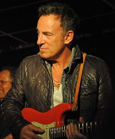 You can look (but you better not touch) Bruce Springsteen. The Boss performs at the Stone Pony reunion concert in Asbury Park, N.J., on April 2