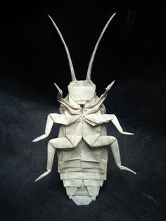 Awesome Origami Paper Sculptures by Brian Chan from the United States