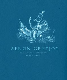 | ASOIAF :Minimalist Character Posters | Aeron Greyjoy  *Requested by anonymous