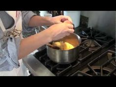 Gougere - French Cheese Puffs - YouTube - instructional