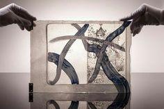 Art glass Skalická Zuzana