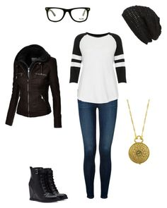 """Untitled #157"" by mrs-grant-guston ❤ liked on Polyvore featuring J Brand, Topshop, Forever 21, GlassesUSA, 1928 and King & Fifth Supply Co."