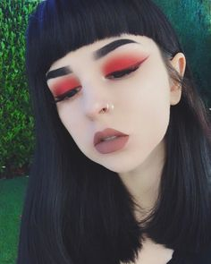 """12.4k Likes, 44 Comments - Amanda Alice (@foxfell) on Instagram: """"I actually missed trying new makeup looks ✨ Details: Eyeshadow: @katvondbeauty 'Swoon' +…"""""""