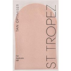 St Tropez Tan Applicator Mitt (8.21 CAD) ❤ liked on Polyvore featuring beauty products, bath & body products and sun care