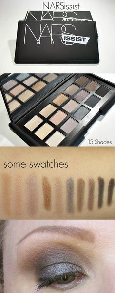 Icy Nails: NARSissist Eye Shadow Palette: My Thoughts. #makeup #beauty #thebeautycouncil #bblogger