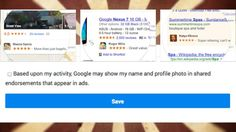 Last week we mentioned that Google is updating its terms of service so it can use your name, face, reviews, and social networking activity (like +1s) in ads displayed to your friends or anyone else Google thinks would be influenced by your opinion. Good or bad, one thing is true: It's easy to opt out. Here's how.