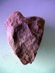 Sedona Valentine Heart Rock by Marlene Rose Besso