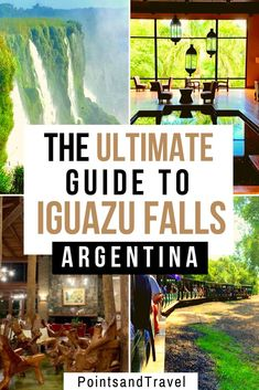 The complete guide to visiting Iguazu Falls in Argentina & Brazil. From how to g… The complete guide to visiting Brazil Travel, Peru Travel, Solo Travel, Hawaii Travel, Italy Travel, Africa Travel, Usa Travel, South America Destinations, South America Travel