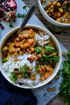 Vegetarian Recipes Easy, Veggie Recipes, Indian Food Recipes, Asian Recipes, Grilling Recipes, Cooking Recipes, Plats Healthy, Sweet Potato Curry, Best Food Ever