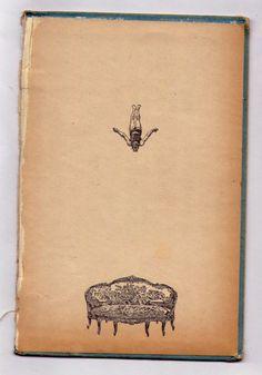 Lovely illustration and vintage book