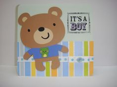It's A Boy card made with CAC 1