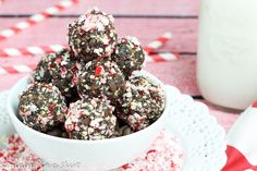 You'll love this fun holiday spin on healthy no bake energy bites! My No Bake Peppermint Fudge Energy Bites recipe tastes amazing and is the perfect healthy holiday treat. Hi guys, Every