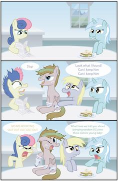 Derpy's New Friend by T-3000.deviantart.com on @deviantART