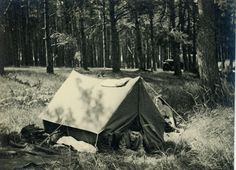 """Vintage Photo """"Going Camping"""","""