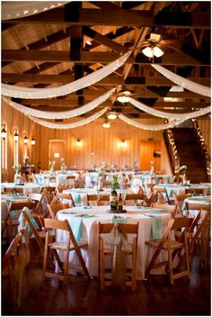 Spring wedding reception decor - love the design! // photo by Addison Studios