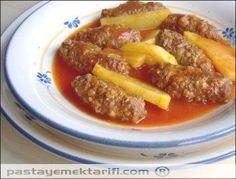 Salçalı Köfte resimli yemek tarifi, Et Yemekleri tarifleri