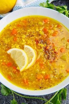 Lemony Lentil Soup
