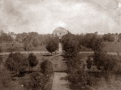 April 18, 1831: The University of Alabama formally opens its doors. Fifty-two students were accepted that first day, but by the end of the session the student body had swelled to nearly one hundred. The faculty was made up of four men including the Reverend Alva Woods, who had been inaugurated president of the university on April 12, 1831.