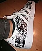 Adidas Superstar Custom by José Estuardo