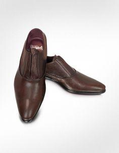 Fratelli Borgioli Treno - Zapatos Oxford de Piel sin Cordones Zapatos  Oxford bc7b695b6c1