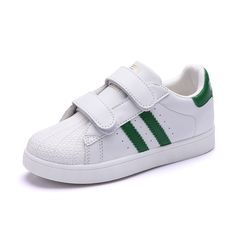 31b854ca0e10 Hot Sale Super star Boys and Girls Sport Shoe Hook Loop Casual Shoe for  Kids Zapatillas de Ninos Mejor Calidad Blancos-in Sneakers from Mother    Kids on ...