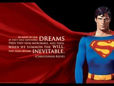 My Fave Christopher Reeve Quote Of All Time